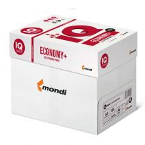 IQ Economy + weiß Kopierpapier A3 80g/m2 - 1 Karton (2.500 Blatt)