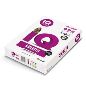 IQ Selection Smooth  Kopierpapier A4 120g/m2 (1 Karton; 2.000 Blatt)