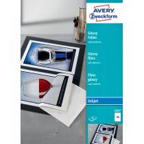AVERY Zweckform Inkjet Folien, A4, klar, Stärke 0,17 mm
