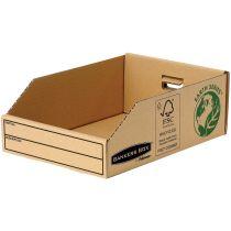 Fellowes BANKERS BOX EARTH Kleinteilebox, braun, (B)147 mm