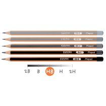 Maped Bleistift BLACK'PEPS, Härtegrad: H