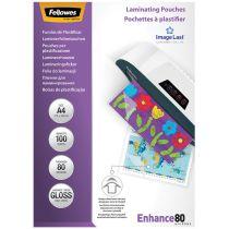 Fellowes Laminierfolientasche, DIN A4, glänzend, 160 mic