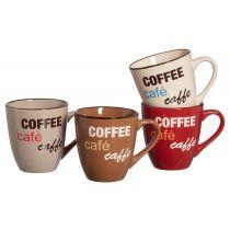 Ritzenhoff & Breker Kaffeebecher Coffee Talk, 0,39 L
