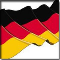 "PAPSTAR Motivservietten ""Germany"", 330 x 330 mm"