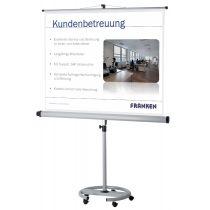 """FRANKEN Stativ-Leinwand """"Mobil"""", (B)1.800 x (H)1.800 mm"""