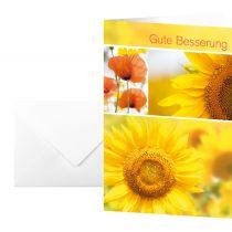 """sigel Genesungskarte """"Gute Besserung"""", (B)115 x (H)170 mm"""