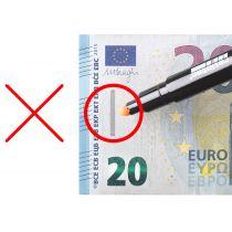 "ratiotec Falschgeld-Prüfstift ""RP 50"", schwarz"