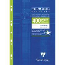 Clairefontaine Feuillets mobiles A4, quadrillé 5 5,100 pages