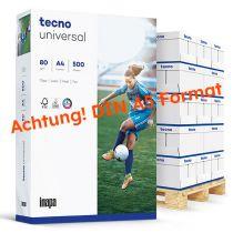 tecno universal weiß Kopierpapier A5 80g/m2 - 1 Palette (200.000 Blatt)