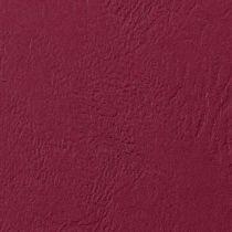 GBC Einbanddeckel LeatherGrain, DIN A4, 250 g qm, dunkelrot