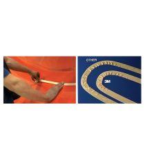 3M Malerabdeckband 244 Gold, 24 mm x 50 m, Stärke: 0,08 mm