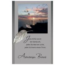"SUSY CARD Trauerkarte ""Sonnenuntergang"""