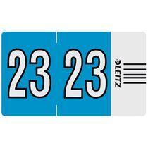 """LEITZ Jahressignal Orgacolor """"22"""", auf Streifen, rot"""
