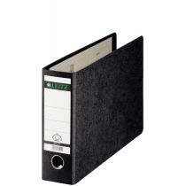 LEITZ Hartpappe-Ordner, 180 Grad, DIN A5 quer, 56 mm,schwarz