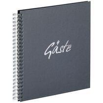 """PAGNA Gäste-Spiralbuch """"Gäste"""", weiß, 40 Seiten"""