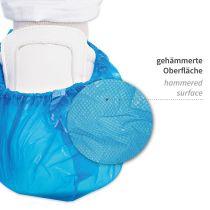 """HYGOSTAR CPE-Überschuh """"HYGOMAT"""", blau, Stärke: 0,06 mm"""