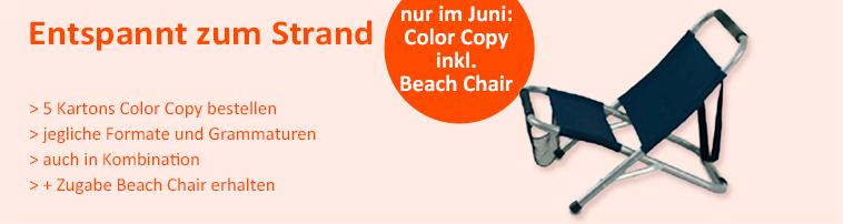 Color Copy mit Zugabe - bei Kopierpapier.at
